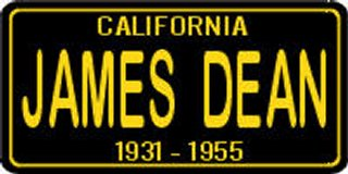 California James Dean 1931-1955