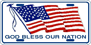 GOD Bless Our Nation US Flag