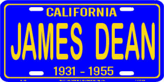 Blue California James Dean