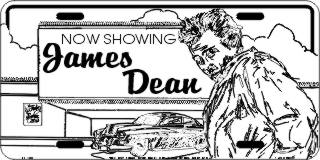 Movie Theater Now Showing James Dean