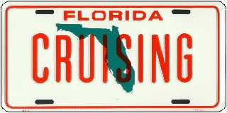 Cruising Florida License Plates