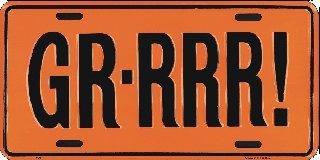 GR-RRR License Plates